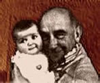 Pop and Me as a baby..long time ago....