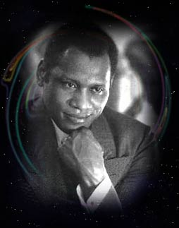 Photo of Paul Robeson by Madame Yevonde c'33
